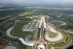 Вид на трассу «Сепанг» с воздуха