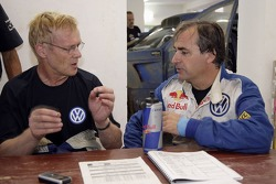 Volkswagen Motorsport test in Morocco: Ari Vartanen and Carlos Sainz