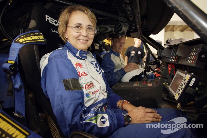 Volkswagen Motorsport Test In Morocco Fabrizia Pons And