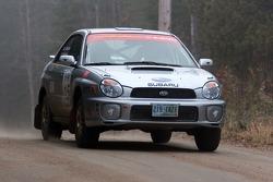 #15 2002 Subaru WRX: Ted Mendham, Lise Mendham