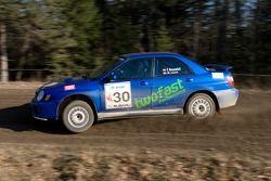 Subaru Impreza WRX 2003 : Frédéric Beausoleil, Myriam Levert