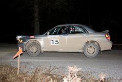#15 Subaru WRX de 2002: Ted Mendham, Lise Mendham