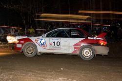 #10 Subaru Impreza de 2000: John Vanos, Alan Ockwell