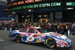Mark Martin in the streets of New York for the Victory Lap