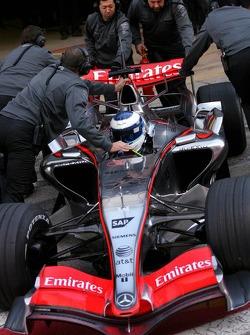 Mika Häkkinen, McLaren-Mercedes MP4-21