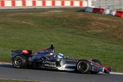 Mika Hakkinen, piloto probador de McLaren Mercedes