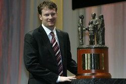 Dale Earnhardt Jr. accepts the Chex Most Popular Driver Award