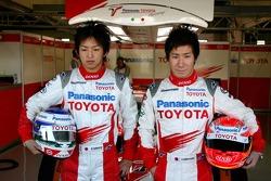 Kohei Hirate ve Kamui Kobayashi
