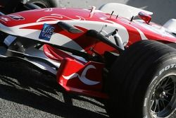 Super Aguri F1 Team interim chassis
