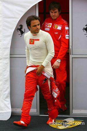 Felipe Massa et Rob Smedly