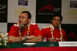 Press conference: Alex Yoong and Fairuz Fauzy