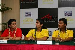 Press conference: Ho-Ping Tung, Alex Yoong and Fairuz Fauzy
