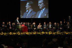 Maranello City Council, Michael Schumacher, Luca di Montezemolo ve Ferrari management