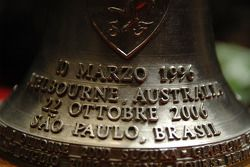 The bell given to Michael Schumacher