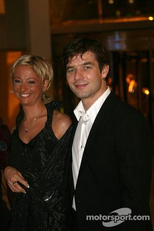 Sébastien Loeb et sa femme