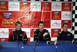 Press Conference: Nico Hulkenberg, Jonny Reid and Robbie Kerr