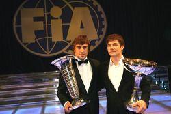 Fernando Alonso y Sébastien Loeb