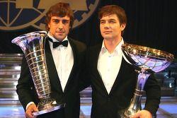 Fernando Alonso and Sébastien Loeb