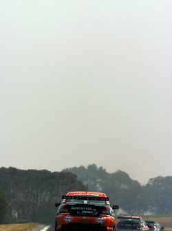 Phillip Island was choked with smoke from nearby bushfires