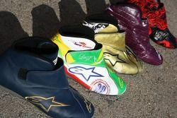 Vitantonio Liuzzi race boots of the 2006 season
