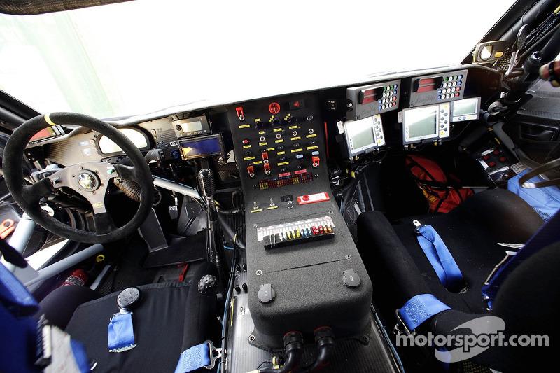 Volkswagen Motorsport presentation in Dubai: cockpit of the