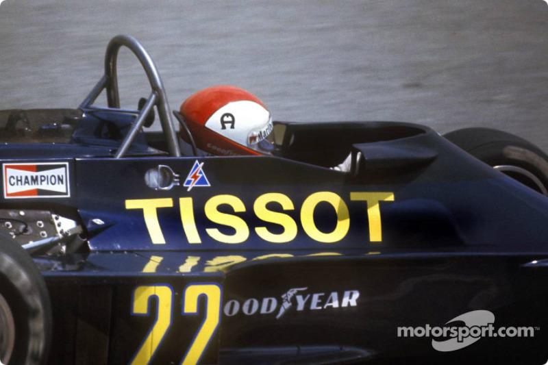 Clay Regazzoni: Ensign (1977 y 1980)