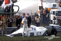 Crash: Clay Regazzoni, Williams FW07