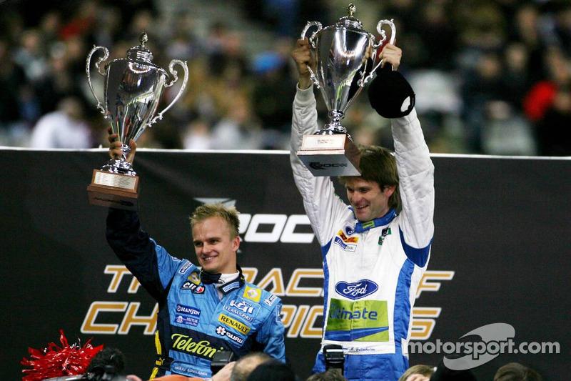 Nations Cup 2006 : Finlande (Marcus Gronholm/Heikki Kovalainen)