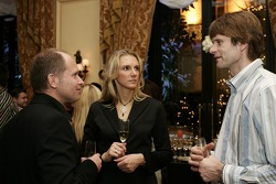 Gala night at Georges V hotel with Armin Schwarz and Marcus Gronholm