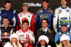 Foto de pilotos de la Carrera de Campeones 2006