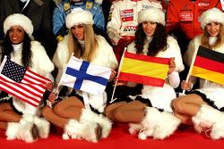 Las chicas de la Carrera de Campeones 2006