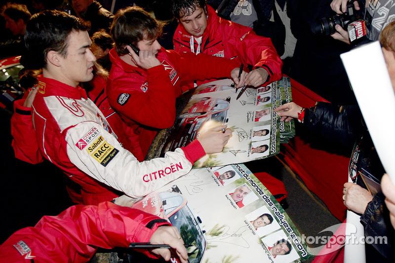 Daniel Sordo and Sébastien Loeb