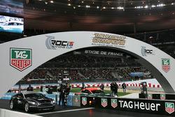 Quarter final: Andy Priaulx and Sébastien Bourdais