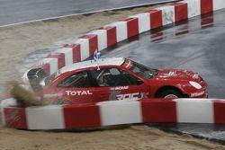 Halbfinale: Colin McRae mit Unfall