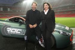 ROC Organisers Fredrik Johnsson and Michele Mouton at Wembley Stadium