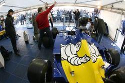Renault F1 padok Clermont-Ferrand