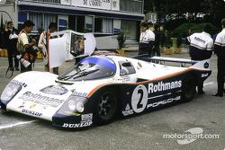#1 Rothmans Porsche: Porsche 962 C: Derek Bell, Hans Stuck, Jacky Ickx