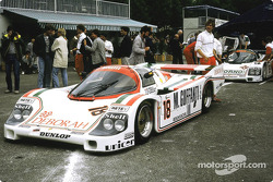 #18 Brun Motorsport Porsche 956: Massimo Sigala, Oscar Larrauri, Gabriele Tarquini