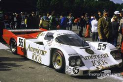 #55 Fitzpatrick Porsche Team Porsche 956: Kenny Acheson, Dudley Wood, M. Lopez