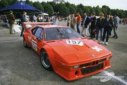 #157 Angelo Pallavicini BMW M1: Angelo Pallavicini, Enzo Calderari, Marco Vanoli