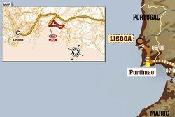 Stage 1: 2007-01-06, Lisboa to Portimão