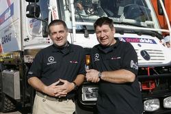 Team MAXDATA Mercedes-Benz Darko Goriop and Janez Krivic