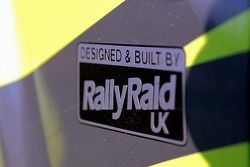 The Rally Raid UK Land Rover Desert Warrior of Paul Round and Martin Coulson