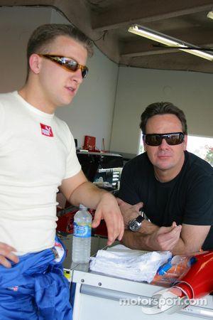 A.J. Allmendinger and Jimmy Vasser