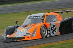 #60 Michael Shank Racing Lexus Riley: Mark Patterson, Oswaldo Negri, Helio Castroneves, Sam Hornish