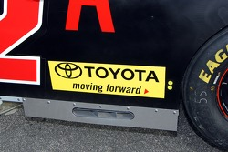 Detail of the CAT Toyota of Dave Blaney