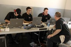 Robert Yates Racing engineers at work