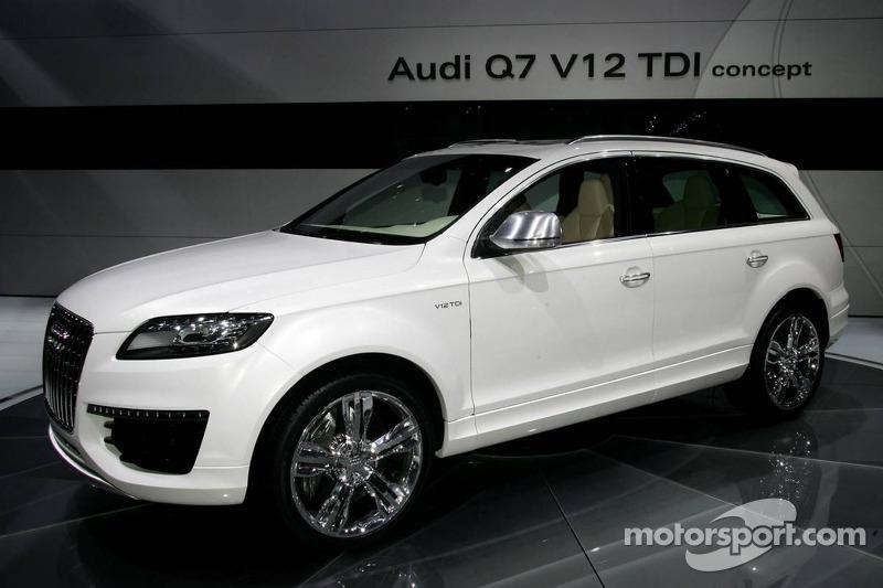 Audi Q V TDI At North American International Auto Show Detroit - Audi q7 v12