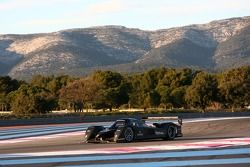 Pedro Lamy tests the Peugeot 908 HDi FAP