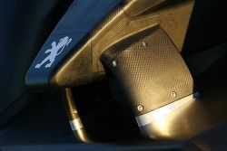 Detail of the Peugeot 908 HDi FAP